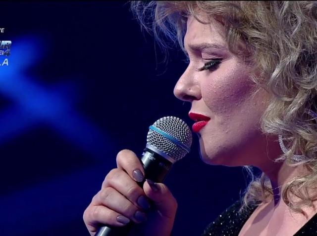 """Alexandra Crişan cântă piesa """"Caruso"""", în finala """"The Four - Cei 4""""!"""
