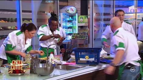 """Se întâmplă și la case mai.... verzi! Chef Sorin Bontea, criză de nervi, după ce Marlena confundă condimentele: """"Doamne ferește! Băi, tu ce ai pus aici, mă? Ăsta e şofran? Alooo!"""""""