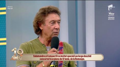 Formația Salamandra va deschide concertul trupei de rock Scorpions