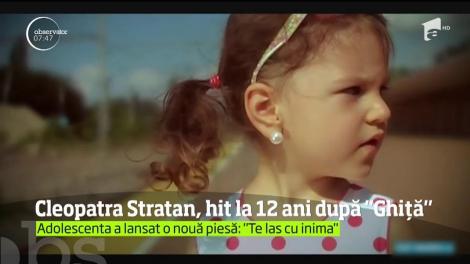 Cleopatra Stratan s-a transformat radical la aproape 12 ani de când cânta despre cum îl aşteaptă pe Ghiţă la portiţă