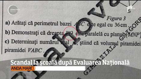 Scandal într-o şcoală din Ploieşti, după proba scrisă la matematică de la Evaluarea Naţională