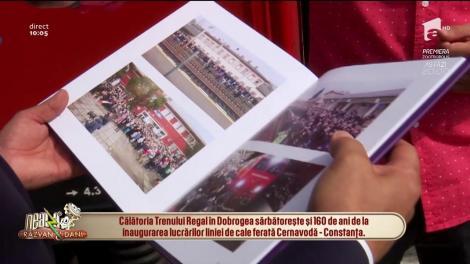 "Trenul Regal pleacă spre Constanța. Familia Regală va vizita fregata ""Regele Ferdinand"""