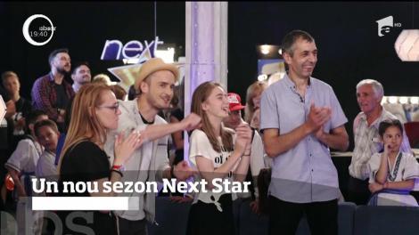 Un nou sezon Next Star! Participanții se vor lupta pentru marele trofeu, în valoare de 20 de mii de euro