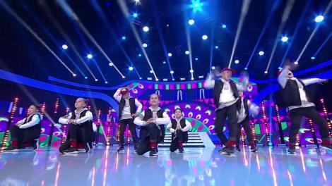 "Explozie de energie! Trupa X-Style mini Kids, super demonstrație de dans pe scena ""Next Star"""