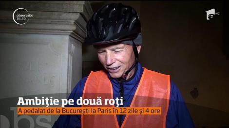Un bărbat din Iași a vrut să parcurgă într-o singură zi, cu bicicleta, traseul Alba Iulia-București