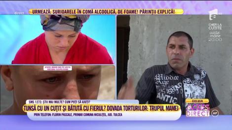 """Alexandra, tânăra mutilată, în moarte lentă din cauza soțului! Primarul comunei Niculițel, județul Tulcea: """"Am sesizat Protecția Copilului"""""""