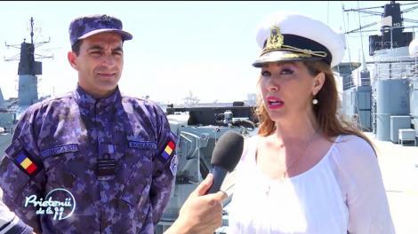 Fregata Regina Maria și celelalte nave din portul Constanța sărbătoresc Ziua Porților Deschise