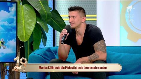 """Marius Călin, sondor de profesie, cântăreț de plăcere: """"Un concert pe sondă, asta aș vrea să văd"""""""