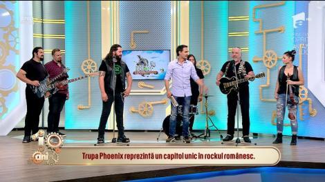 """Formația Phoenix, un pod în timp. Trupa de rock a sărbătorit 55 de ani de existență: """"Formația trebuie să meargă mai departe"""""""