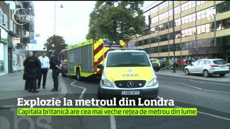 Britanicii au retrăit momente de groază, după ce o explozie s-a produs la metroul din Londra