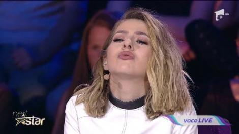 """Andreea Bucur cântă fado pe scena """"Next Star"""""""