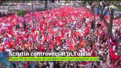 Alegeri prezidențiale și parlamentare controversate în Turcia. Peste 59 de milioane de cetățeni sunt așteptați la vot