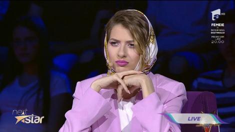 """Cât talent! Elisa Popovici a interpretat excelent o doină, pe scena """"Next Star"""""""