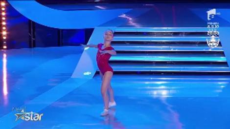 Alexandra Laură, moment unic de gimnastică aerobică la Next Star