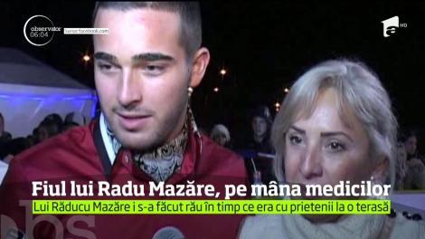 Fiul fostului primar, Radu Mazăre, a ajuns de urgență la spital. Prietenii lui susţin că tânărul ar fi acuzat dureri de cap şi înţepături în piept