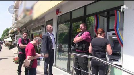 Suspect arestat în cazul jafului din bancă. Un bărbat de 40 de ani a fost arestat preventiv