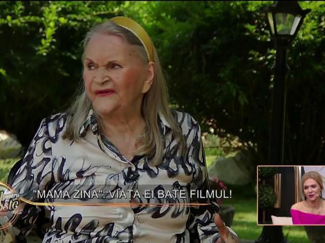 """Zina Dumitrescu vorbeşte la """"Totul despre dragoste"""" despre unul dintre cele mai mari regrete ale sale: """"Am stat toată viaţa măritată"""""""
