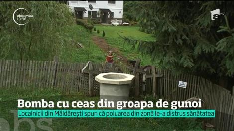 O bombă ecologică pune în pericol mii de oameni, în Vâlcea