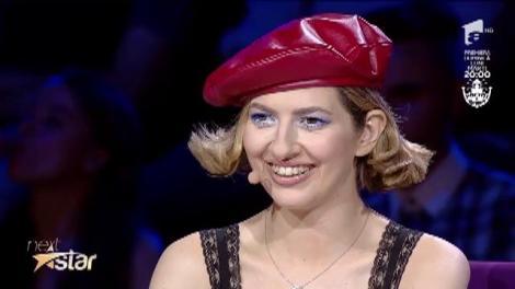 """Povestea Scufiței Roșii, în varianta Laviniei Militaru, pe scena """"Next Star"""""""