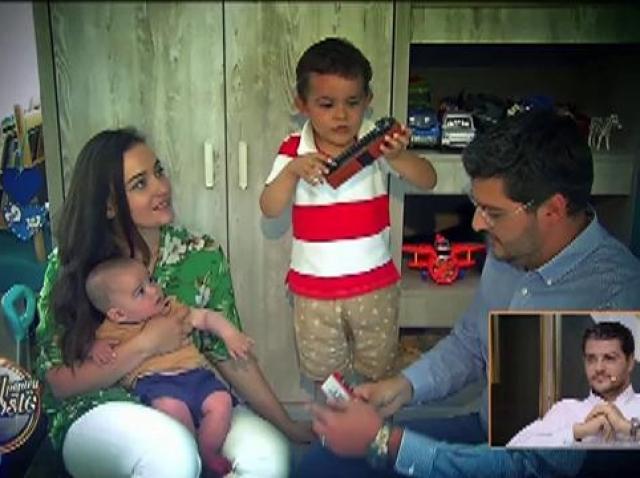 """Andra și Răzvan Pascu, o familie fericită : """"Soțul meu este stânca pe care mă pot baza"""""""