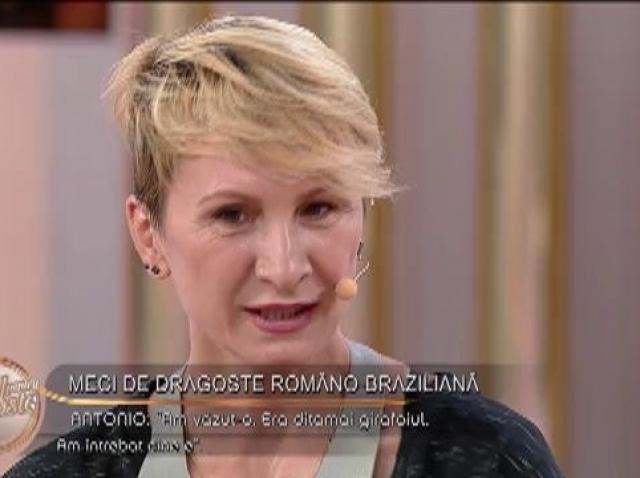 """Antonio și Daniela, meci de dragoste româno-braziliană: """"L-am remarcat pentru că îmi plăcea cum dansa"""""""