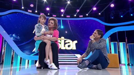 """Carmen Tănase, SURPRIZĂ uriașă la """"Next Star""""! Actrița a venit cu un dar special pentru Ionela!"""
