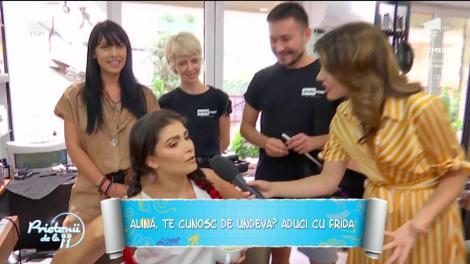 """Alina Pușcaș, transformări pentru noul sezon """"Te cunosc de undeva!"""""""