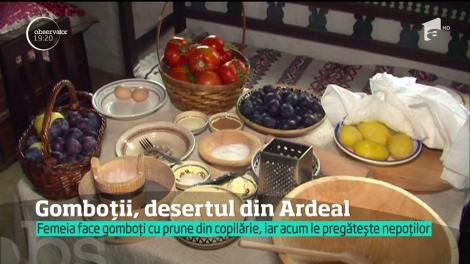 Din prune şi cartofi, în gospodăriile din Ardeal, se pregăteşte Gomboții, un desert care a făcut deja istorie