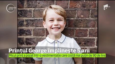 Prințul George împlinește cinci ani