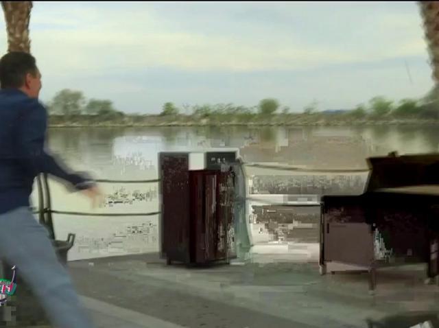 Vârciu, Andrei Ștefănescu și Nea Marin, bătaie cu pietre, pe ponton!