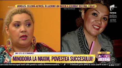 Minodora la Maxim, povestea succesului!