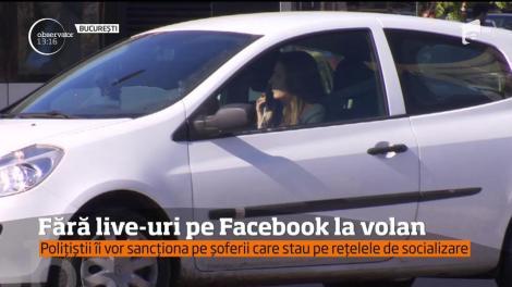 Peste 11 mii de amenzi au fost date de la începutul anului, doar în Capitală, şoferilor care nu purtau centură şi celor care foloseau telefonul mobil la volan.