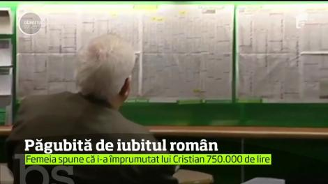 Dragostea pentru un român a trecut direct prin buzunar în cazul unei britanice