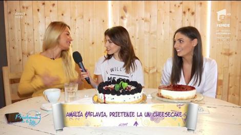 """Ziua internațională a prieteniei, dar și ziua cheesecake, celebrul desert american, petrecută la """"Prietenii de la 11"""""""
