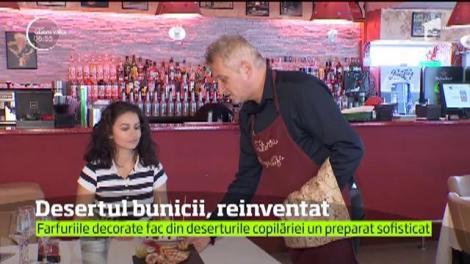 Crema de zahăr ars, clătitele sau grişul cu lapte sunt doar câteva dintre deserturile bunicii la care se gândesc cu nostalgie aproape toţi românii