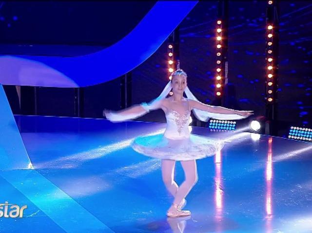 """Moment de clasă și rafinament la """"Next Star""""! Olimpia Cărăuleanu oferă o lecție de balet"""