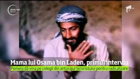 Mama lui Osama bin Laden a oferit un interviu britanicilor de la The Guardian