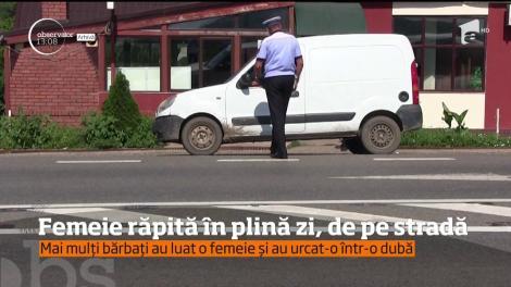 Caz şocant în Arad. Mai mulţi martori susţin că o femeie ar fi fost răpită, în plină zi, de pe o stradă din centrul oraşului