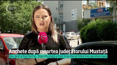 Procurorii anchetează moartea judecătorului Stan Mustaţă, după ce acesta a fost plimbat între mai multe penitenciare şi spitale