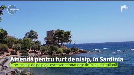 A încasat o amendă 1000 de euro pentru furt de nisip de pe o plajă!