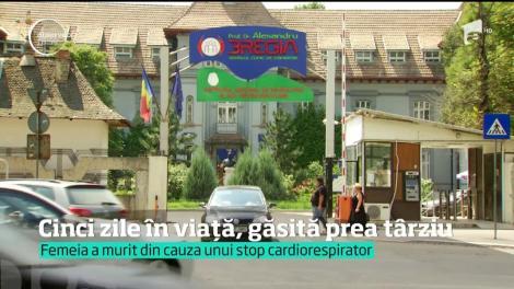 Este anchetă la Spitalul Obregia după ce femeia dispărută, a fost găsită moartă, chiar în curtea unităţii sanitare