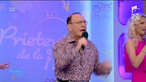 """Petre Geambașu cântă piesa """"Maria, mi amor"""""""