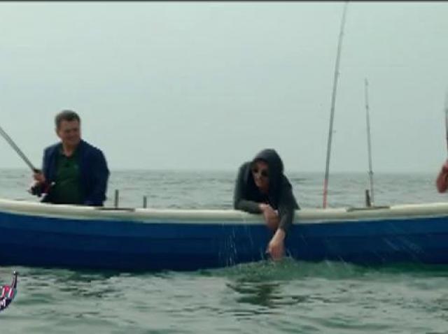 """Carmen Tănase, Nicolai Tand și Cătălin Oprișan, pescari de voie, de nevoie: """"Cu mine în barcă n-o să prindeți nimic!"""""""