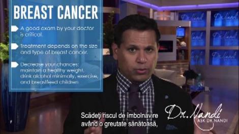 Cancerul la sâni: semne, cauze, solutii -  Ask Dr. Nandi