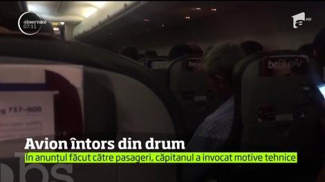 Panică la bordul unui avion ce a decolat de pe aeroportul Henri Coandă, din Capitală şi avea ca destinaţie Norvegia