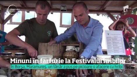 Minuni în farfurie au făcut bucătarii la Festivalul hribilor din Maramureş