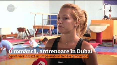 Loredana a ajuns antrenor de gimnastică şi fitness în Dubai, după ce, la noi în ţară, a făcut parte din lotul olimpic la junioare