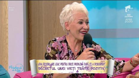 """Lidia Fecioru, despre cum să fim fericiți: """"Nu e ocligatoriu să ne iubească toată lumea"""""""