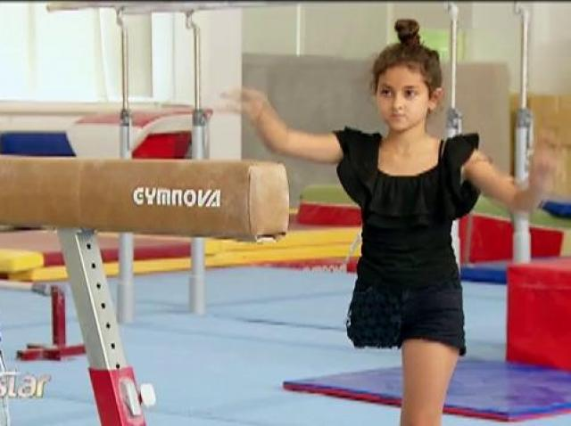 I-a fost amputat un picior, dar nu renunță la pasiunea ei. Giorgia e campioana Italiei la gimnastică ritmică