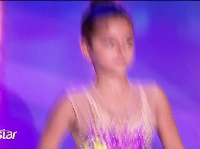 Giorgia Greco, moment spectaculos de gimnastică ritmică la Next Star